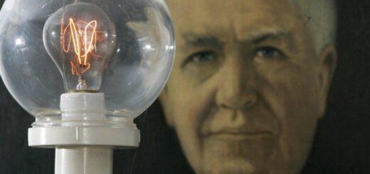 توماس آلوا ادیسون مخترع لامپ